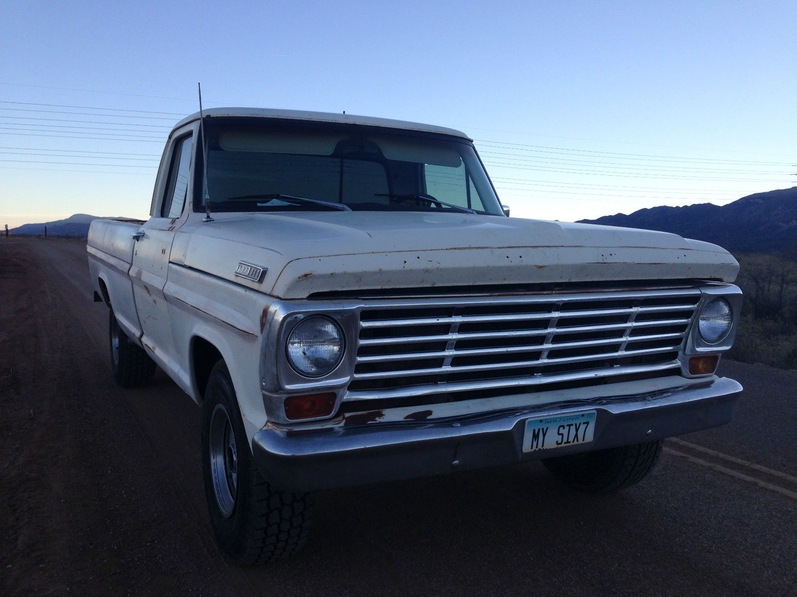1967 Ford F 100 F100 Shop Truck Patina For Sale In Cottonwood 1964 250 Camper Special Arizona United States