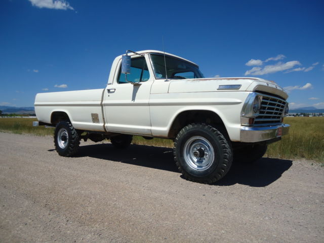 1967 Ford F250 4x4 High Boy Highboy F100 F150 F1 F2