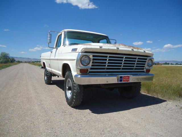 1967 Ford F250 4x4 High boy highboy F100 F150 F1 F2 California desert ...