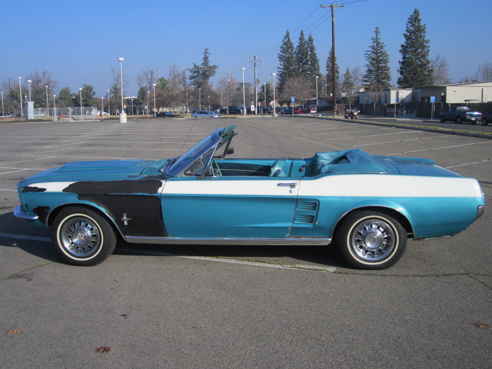 1967 Ford Mustang Convertible V8 Auto P S Gt Wheels C
