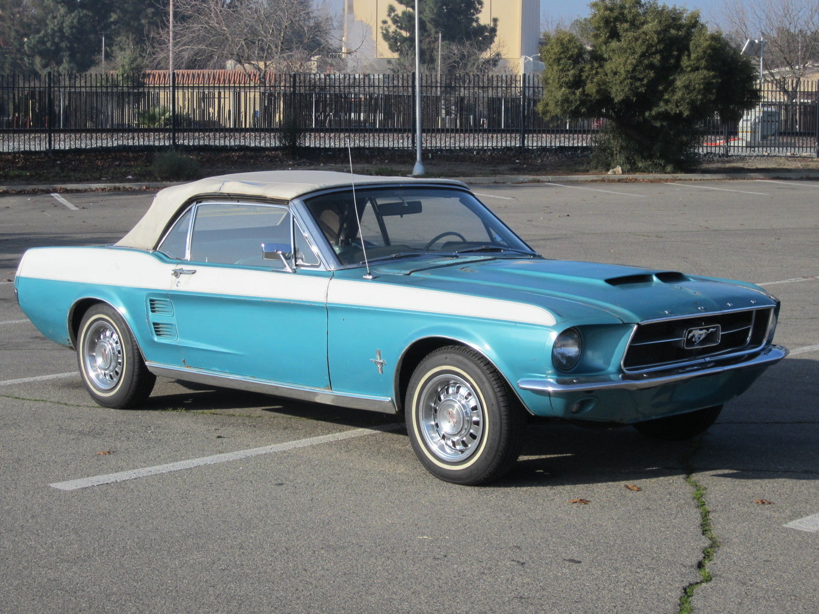 1967 ford mustang convertible v8 auto p s gt wheels 39 c 39 code runs and drives for sale in. Black Bedroom Furniture Sets. Home Design Ideas