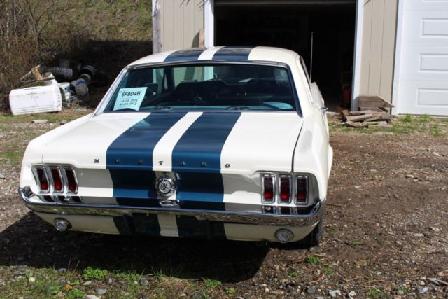 1967 ford mustang coupe 2 door fully redone with bored for Garage ford vernon