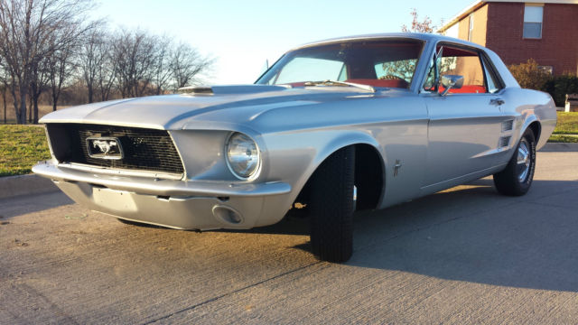 1967 ford mustang coupe 200ci inline 6 3 speed manual. Black Bedroom Furniture Sets. Home Design Ideas
