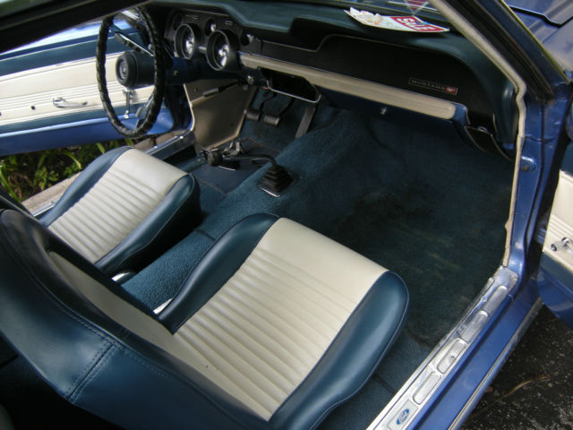 1967 ford mustang coupe 6 cylinder manual for sale in miami rh classicvehicleslist com 1967 ford mustang shop manual 1967 ford mustang shop manual