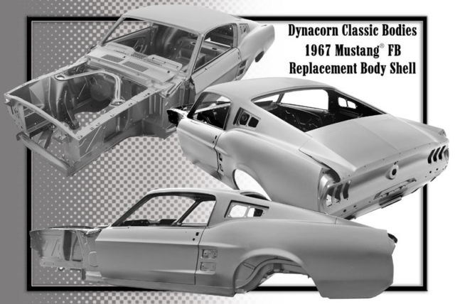 1967-Ford-Mustang-Fastback-Licensed-Dynacorn-Body-Shell ...