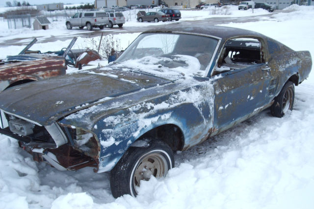1967 Ford Mustang Fastback Project Car Build Eleanor Or Shelby Clone 1968