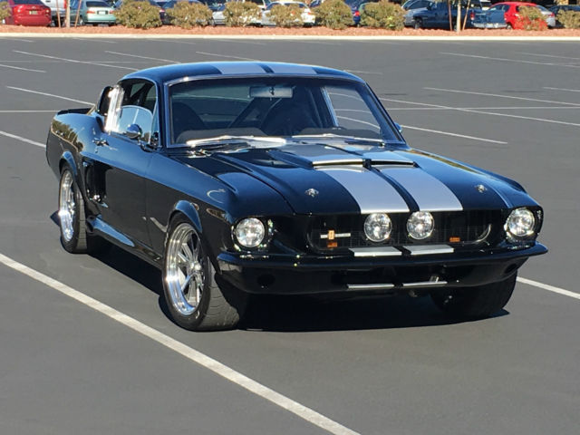 1967 ford mustang fastback shelby eleanor look gt500. Black Bedroom Furniture Sets. Home Design Ideas