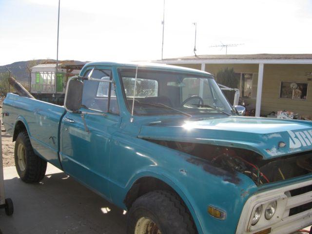 gmc v6 block 1967 4x4 truck 2500 sierra