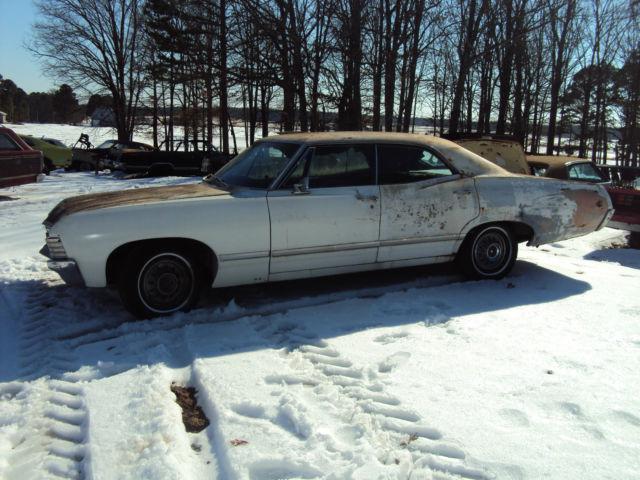 1967 impala 4 door hardtop 67 supernatural for sale in willard missouri united states. Black Bedroom Furniture Sets. Home Design Ideas