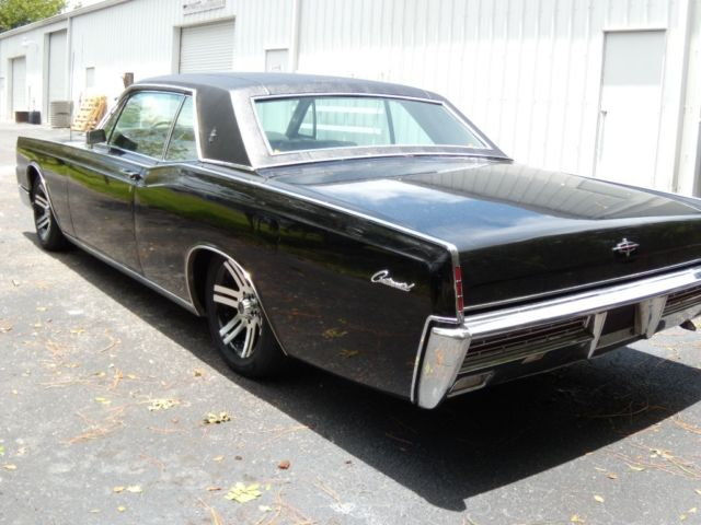 1967 Lincoln Continental 2 Door Hardtop Coupe Slab Side Solid Nice