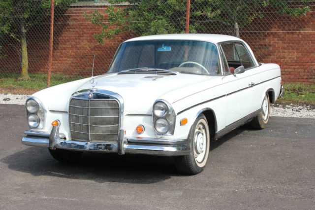 1967 mercedes benz 300se coupe a c w112 for Mercedes benz coupes list