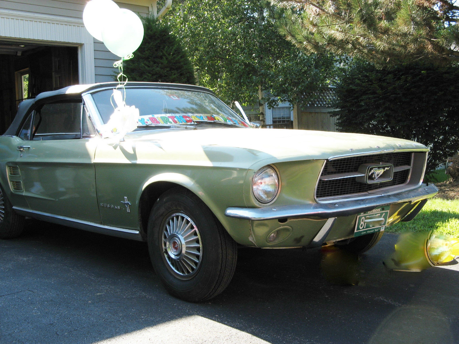 1967 mustang convertible for sale by original owner