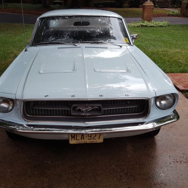 1967 Mustang Coupe Hard Top One Family Owner