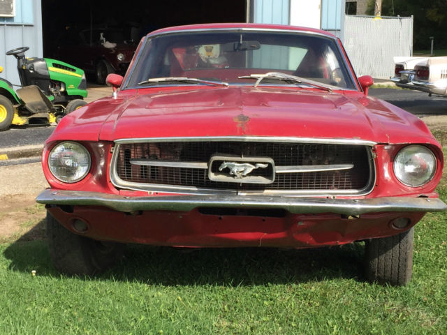 1967 mustang manual transmission for sale