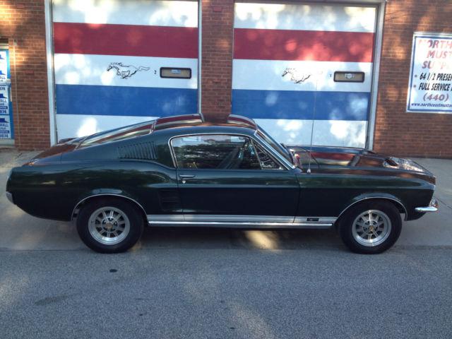 1967 Mustang GT Fastback S Code 390 4 V Speed Ground Up Restoration