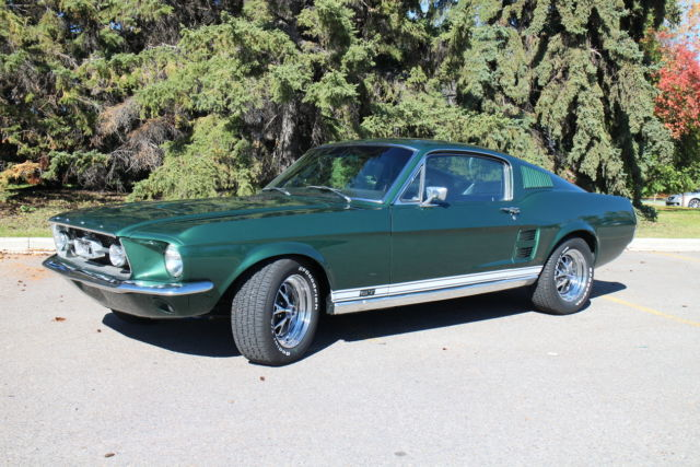 1967 Mustang GT Fastback W 390 S Code And 4 Speed Manual