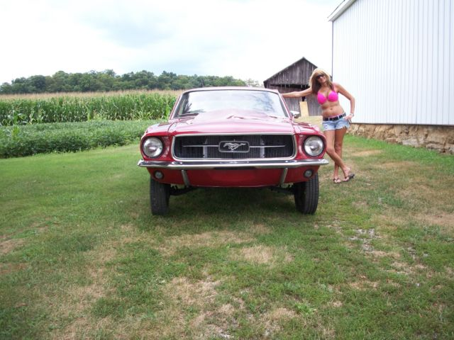 1967 Mustang Pro Street Project Race Car