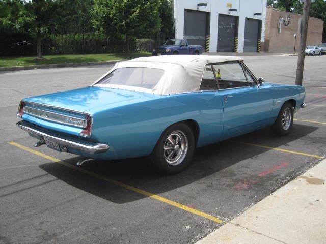 1967 Plymouth Barracuda Convertible 86 000 Mile Az Car