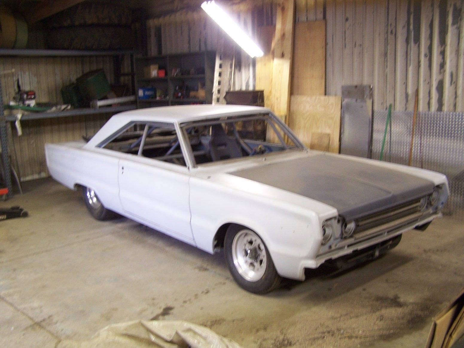 1967 Plymouth Belvedere II pro street project with extras for sale in  Boonville, Indiana, United States