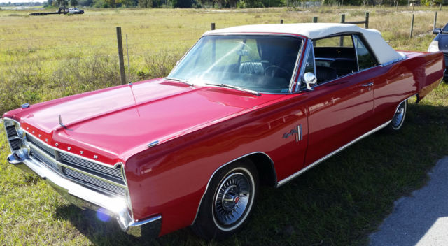 1967 Plymouth Sport Fury Convertible V8 45,000 Mile ...