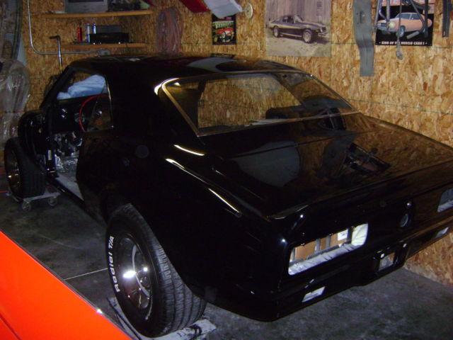 1967 rs ss396 camaro project car. Black Bedroom Furniture Sets. Home Design Ideas