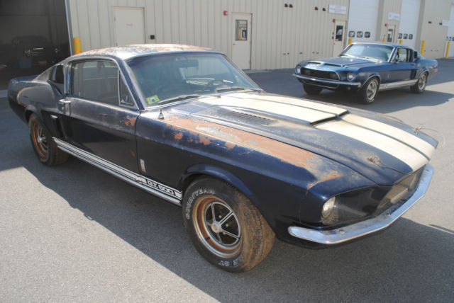 67 Mustang Fastback Project Car For Sale >> 1967 Shelby GT 500 Original Shelby Mustang Project Needs ...
