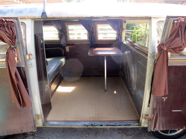1967 Volkswagen Sundial Camper Split Window Bus Original