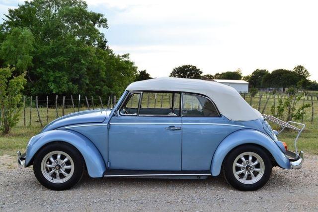 1967 vw beetle convertible complete restoration no reserve volkswagen. Black Bedroom Furniture Sets. Home Design Ideas