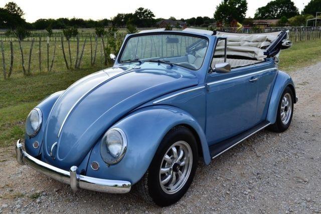 1967 VW Beetle Convertible, Complete Restoration, NO RESERVE, Volkswagen
