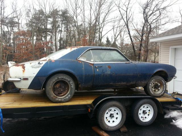 1968 68 Camaro project