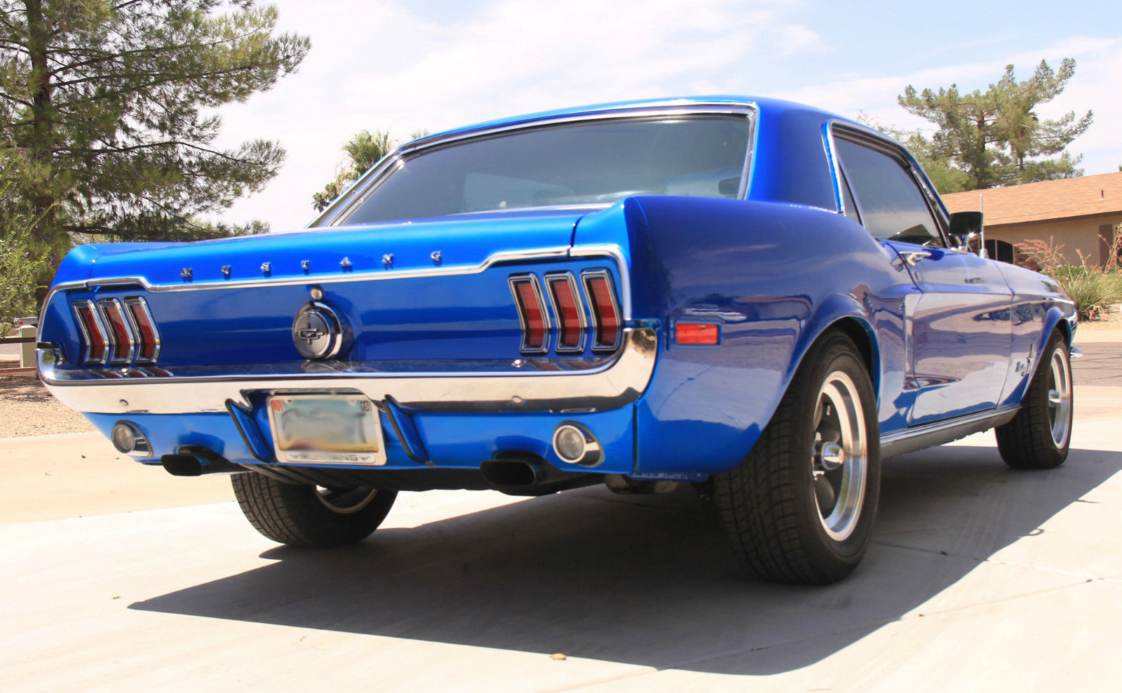 1968 68 ford mustang coupe 347 420hp classic custom hot rod v8 automatic arizona