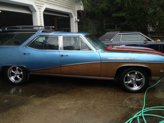 1968 buick sport wagon 400 gs grand sport 74 000 miles clean station wagon. Black Bedroom Furniture Sets. Home Design Ideas
