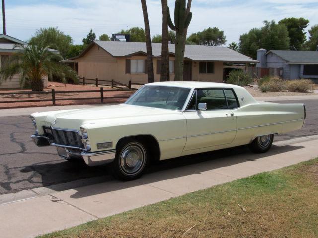 1968 Cadillac Calais Base Hardtop 2 Door 7 7l