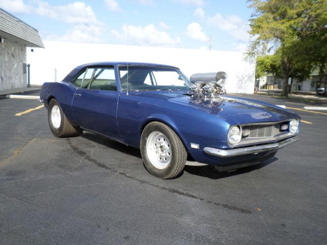 1968 Camaro Pro Street Blown 355 6 71 Supercharger Chevy