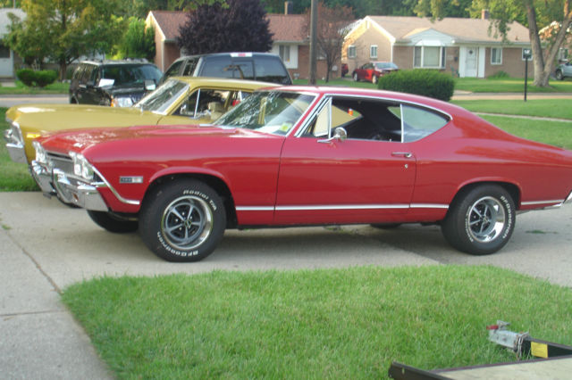 1968 Chevelle SS With 502 Crate Motor With 138 VIN Origanal SS Frame