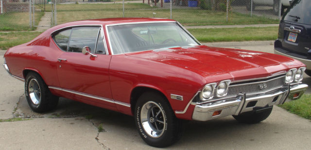 1968 Chevelle SS With 502 Crate Motor With 138 VIN Origanal