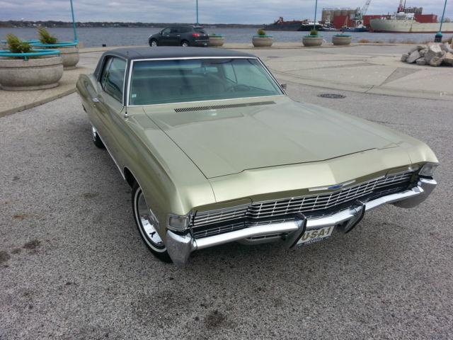 1968 Chevrolet Caprice Original 327 Hide Away Headlights Impala