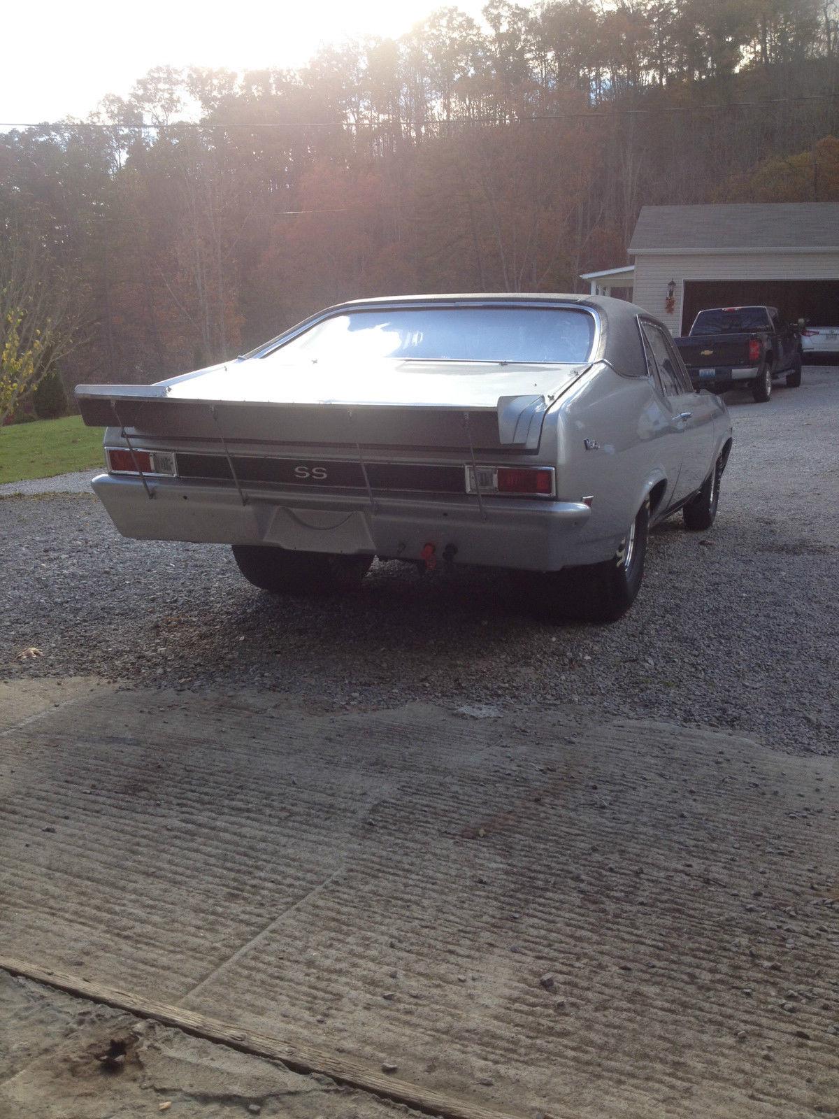1968 Chevrolet Nova Drag Car 434 Sb New Paint Trim Tail