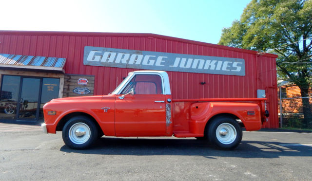 1968 Chevy C10 Stepside Shortbed Classic Pickup Truck