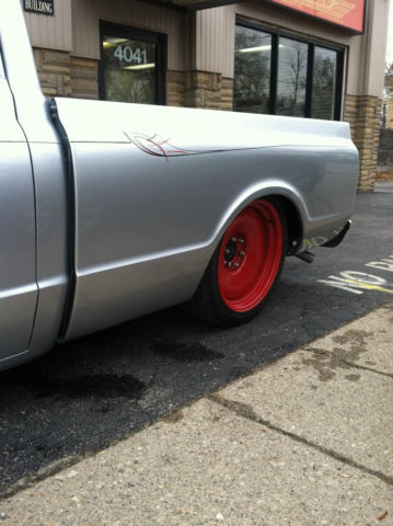 400 Turbo Transmission >> 1968 Chevy C10 Super Clean Air Ride Chopped Mob Steel ...