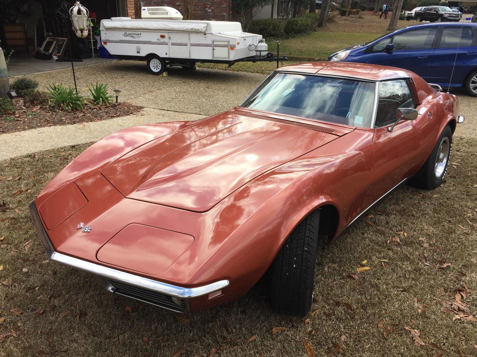 1968 chevy corvette t tops good condition. Black Bedroom Furniture Sets. Home Design Ideas
