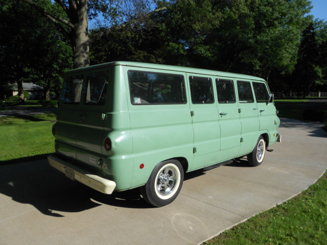 1968 Dodge A100 Van Family Wagon factory camper version ...