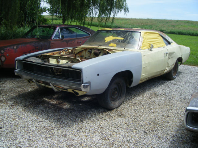1968 Dodge Charger 318 Manual On Column Solid Project