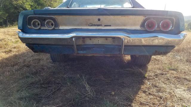 1968 Dodge Charger Project Car Mopar Muscle