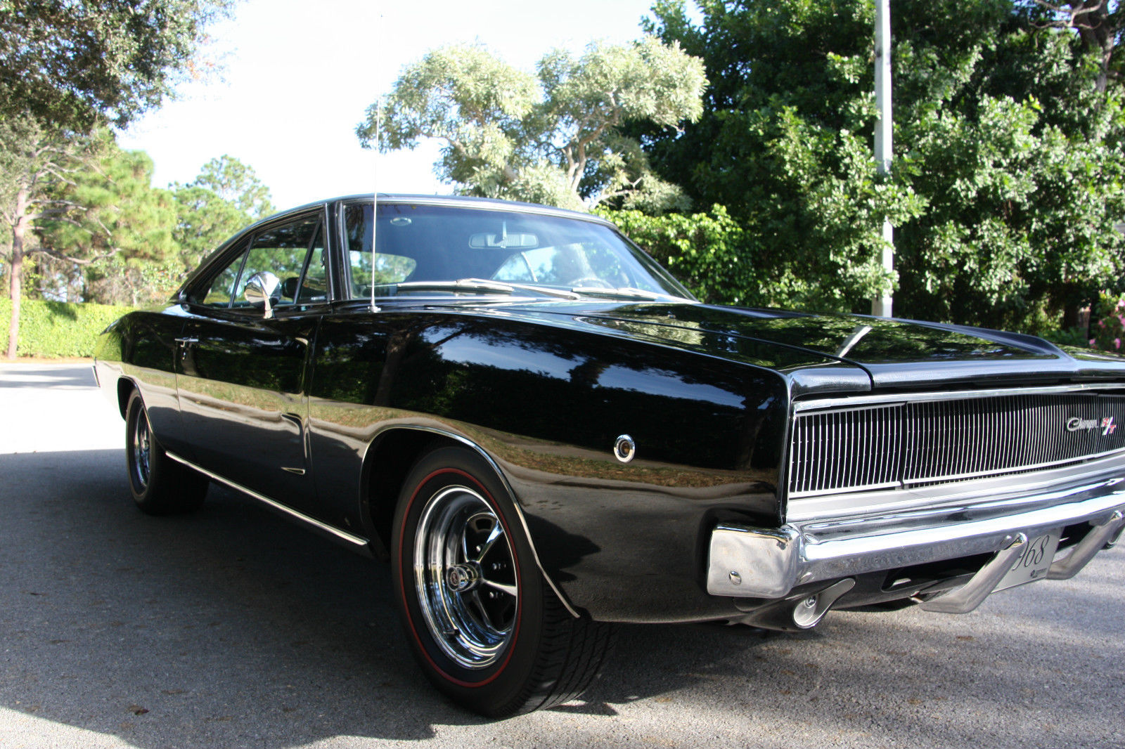Swell 1968 Dodge Charger R T Triple Black 440 Engine Hurst 4 Speed Wiring 101 Mecadwellnesstrialsorg