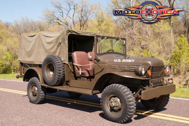 Front Wheel Drive Hauler : Dodge m troop hauler cid inline cylinder