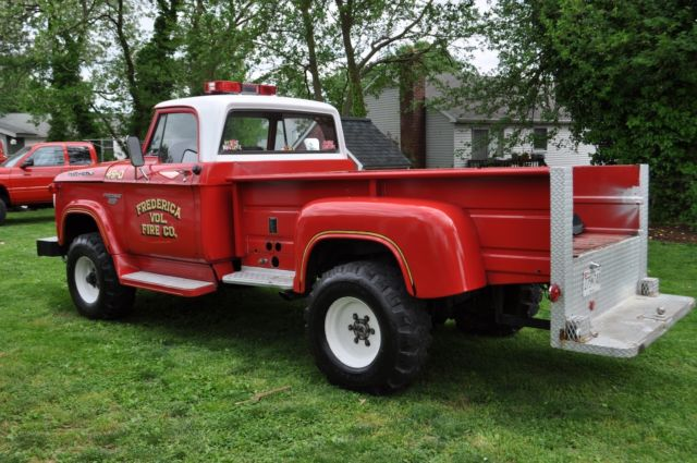 1968 dodge power wagon w 300 brush truck for Department of motor vehicles glen burnie
