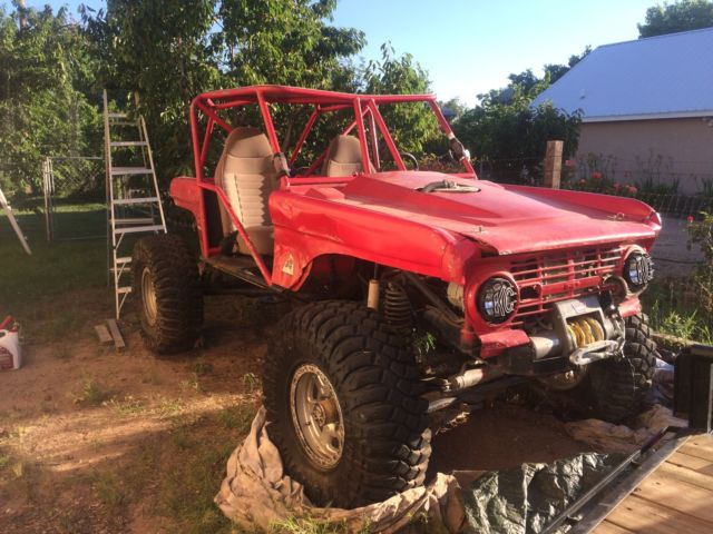 1968 Early Ford Bronco Based V8 Rock Crawler 4x4 Rock Buggy For Sale