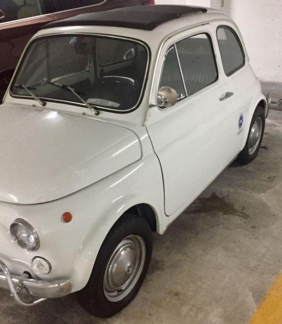 1968 Fiat 500 L Great Condition White