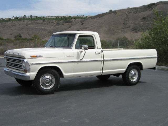 1968 Ford F 250 Camper Special Custom Cab Classic Better